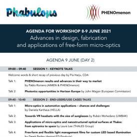 Workshop Agenda - Day 2