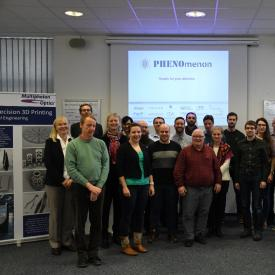 Consortium members at the PHENOmenon M24 meeting
