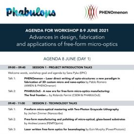 Workshop Agenda - Day 1